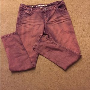 Pink Mossimo Jeans